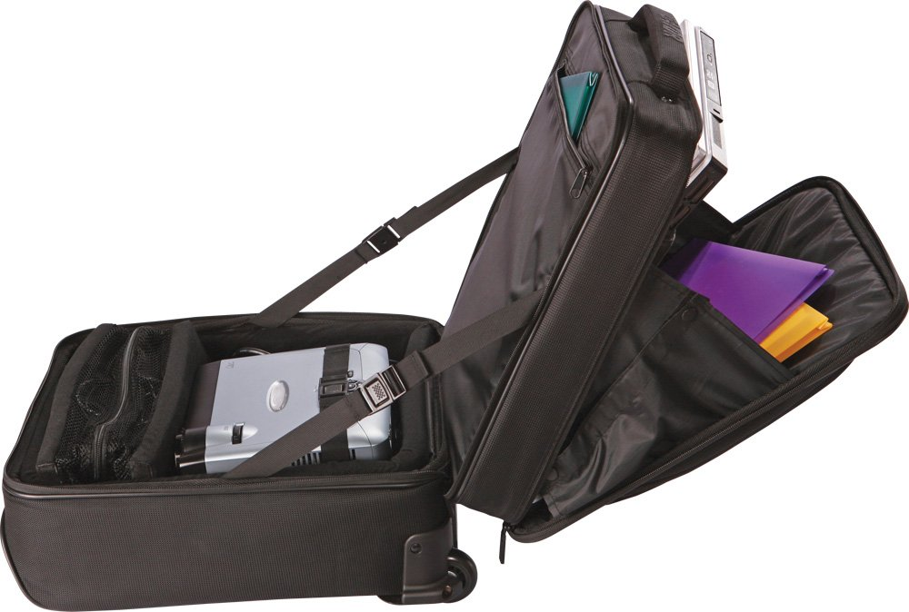 Gator Laptop and Projector Bag with Wheels and Handle (GAV-LTOFFICE-W) by Gator