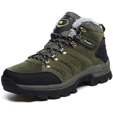 d4d42238c1edc Amazon.com: cici shoes Mens Womens Winter Snow Boots Fur Warm ...