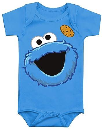 5665582ef3 Sesamstraße Krümelmonster Body blau 62/68: Amazon.de: Baby