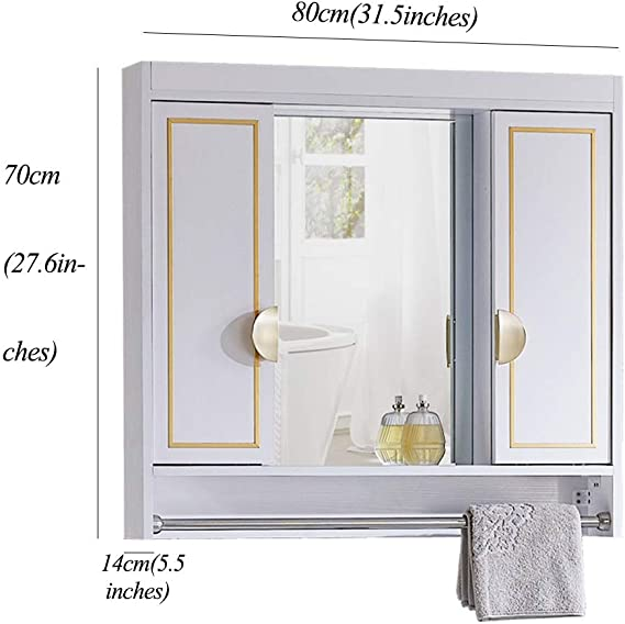 Muebles de baño Armarios de Pared Mueble De Espejo De Baño Espejo ...