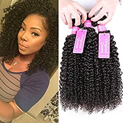 Original Queen 100% Brazilian Unprocessed Virgin Kinky Curly Human Hair Weave 4 Bundles Deep Curly Hair Extensions Mixed Length 22 22 22 22inches