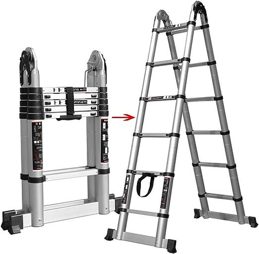 ZAQI - Escalera multiposición para ático (Aluminio, 150 kg): Amazon.es: Hogar
