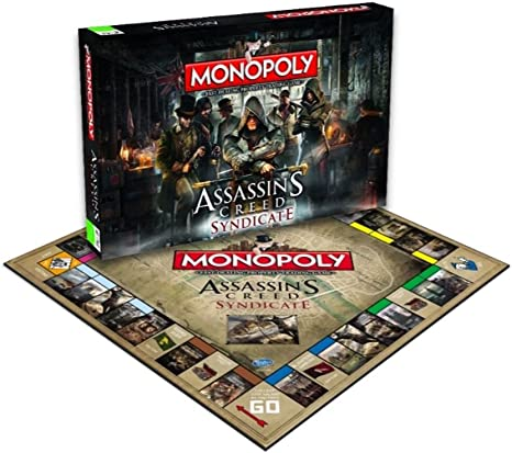 Assassins Creed Monopoly Board Game: Amazon.es: Winning, Moves: Libros en idiomas extranjeros