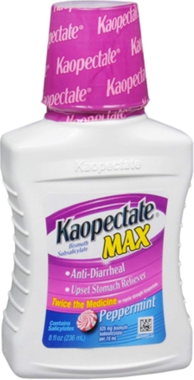 Kaopectate Extra Strength Liquid Peppermint 8 oz (Pack of 7) by Kaopectate