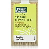 Thursday Plantation Chewing Sticks - Cinnamon 100 Count