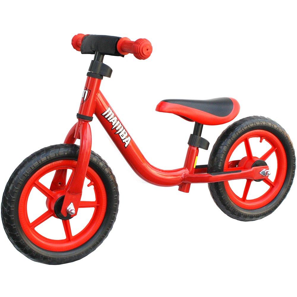 Mamba Sport 12 Balance Bike with Handlebar Pad (Blue) Mamba Bikes