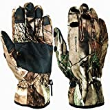 Sports Outdoors Fitness Hunting Fishing Best Deals - Women's Men's Best Specialized Lightweight Windproof Camouflage Outdoor Sports Running Texting Fishing Hunting Photography Camera Cycling Smartphone Slit Finger Gloves (Camo, L)