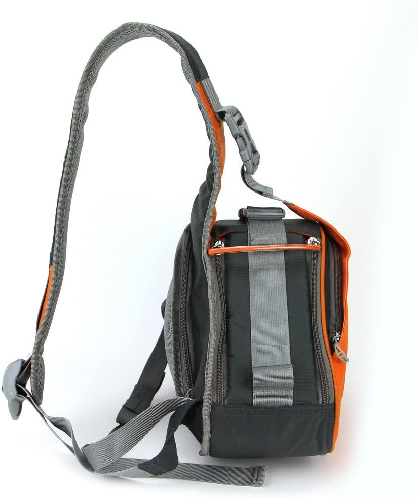 Caseman Aos1 Black DSLR SLR Camera Shoulder Bag case Sling Travel Waterproof fit for Canon Sony Nikon Pentax