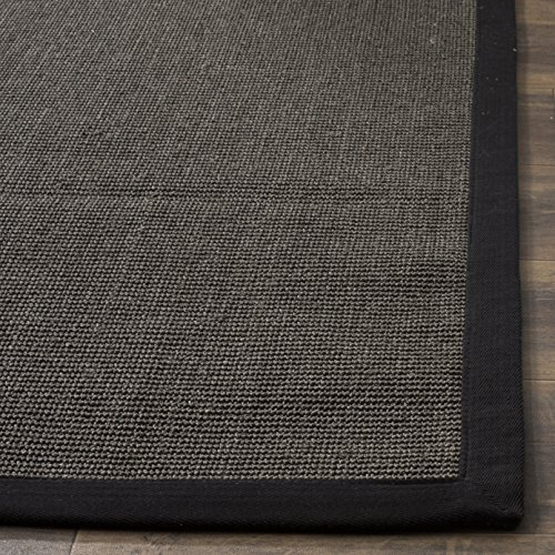 Safavieh-Natural-Fiber-Collection-NF441A-Hand-Woven-Maize-and-Black-Sisal-Area-Rug-5-x-8