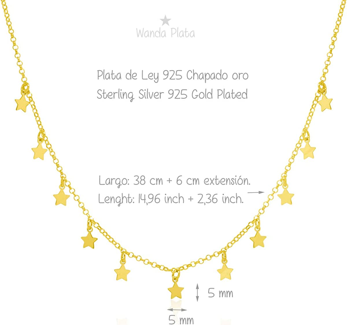 Gargantilla Choker Monedas Chapas Multichapas Plata de Ley 925,Colgantes Redondos,Circulitos Collar chapitas para Mujer
