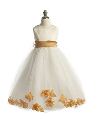 Taupe Flower Girl Dresses