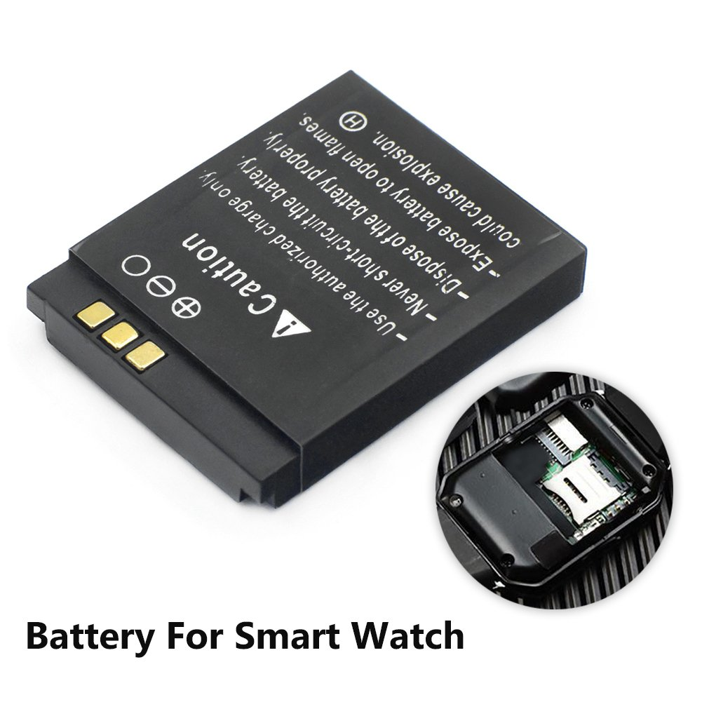 Mstick 380mah Lq S1 Replacement Battery For Dz09 Smartwatch