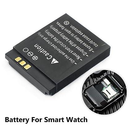 Mstick 380mah Lq S1 Replacement Battery For Dz09 Smartwatch Amazon