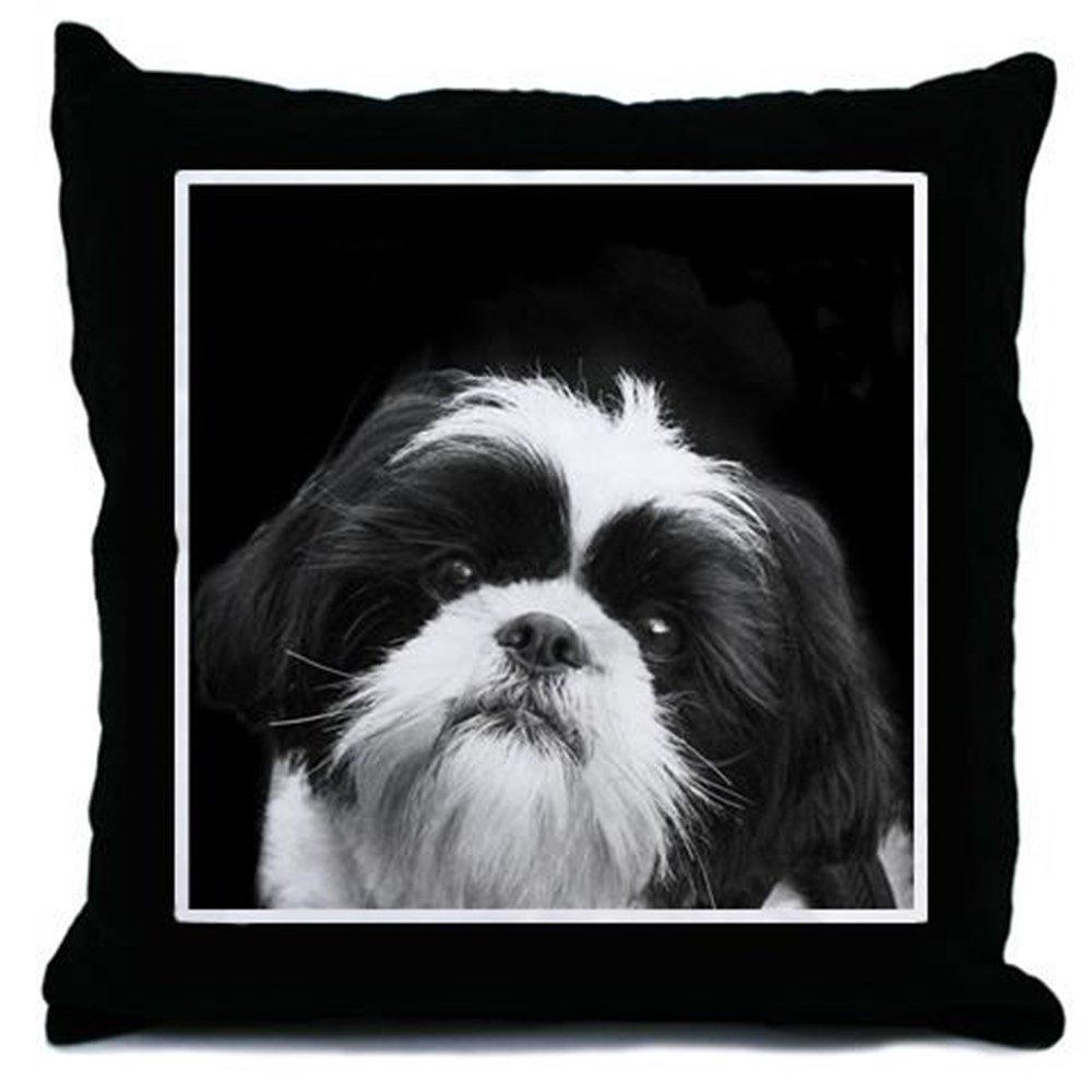 CafePress – シーズー犬 – スロー枕、装飾アクセント枕 Cover Only ホワイト 1665476346C9767 B01INRHK2WCover Only