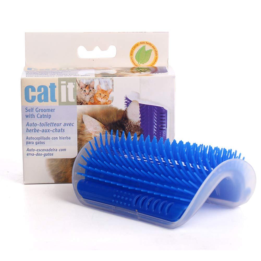Amazon.com : PetDream Cat Corner Horns Cat Massage Comb Cat Toy with Catnip Meet The Cats Various Itching Desires : Pet Supplies