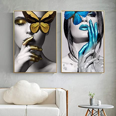 Modern Wall Painting Home Decorative Art Picture Abstract fashion women