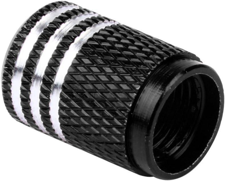 Gray 4 Pack EVPRO Valve Stem Caps for GMC Car Tire Decorative Accessories