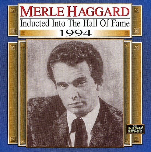 CD : Merle Haggard - Country Music Hall Of Fame (CD)
