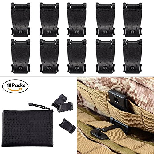Molle Web - BOOSTEADY MOLLE Clips Tactical Strap Management Tool Web Dominator Backpack Accessories by