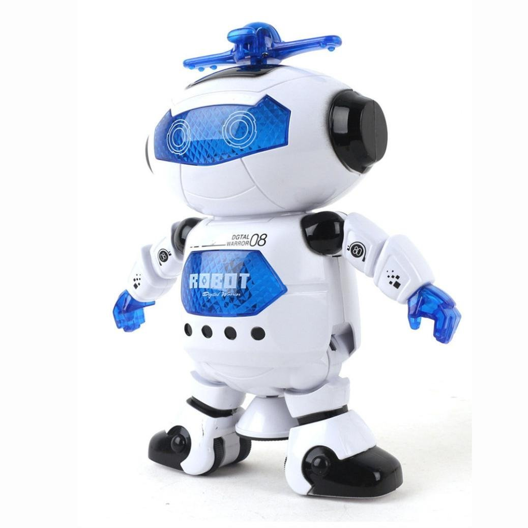 UKnows Smart Space Robot Electronic Walking Dancing Astronaut Kids Music Light Toys by UKnows (Image #3)