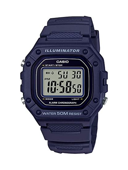 e742b4d87 Image Unavailable. Image not available for. Color: Casio Men's Classic  Stainless Steel Quartz Watch with Resin ...