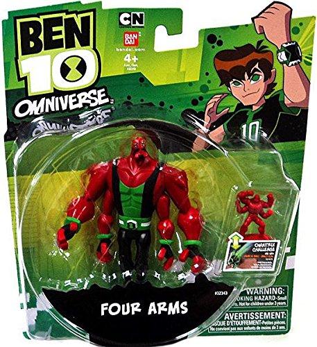 Ben  10  Omniverse  Fourarms  Action  Figure,  3 inches
