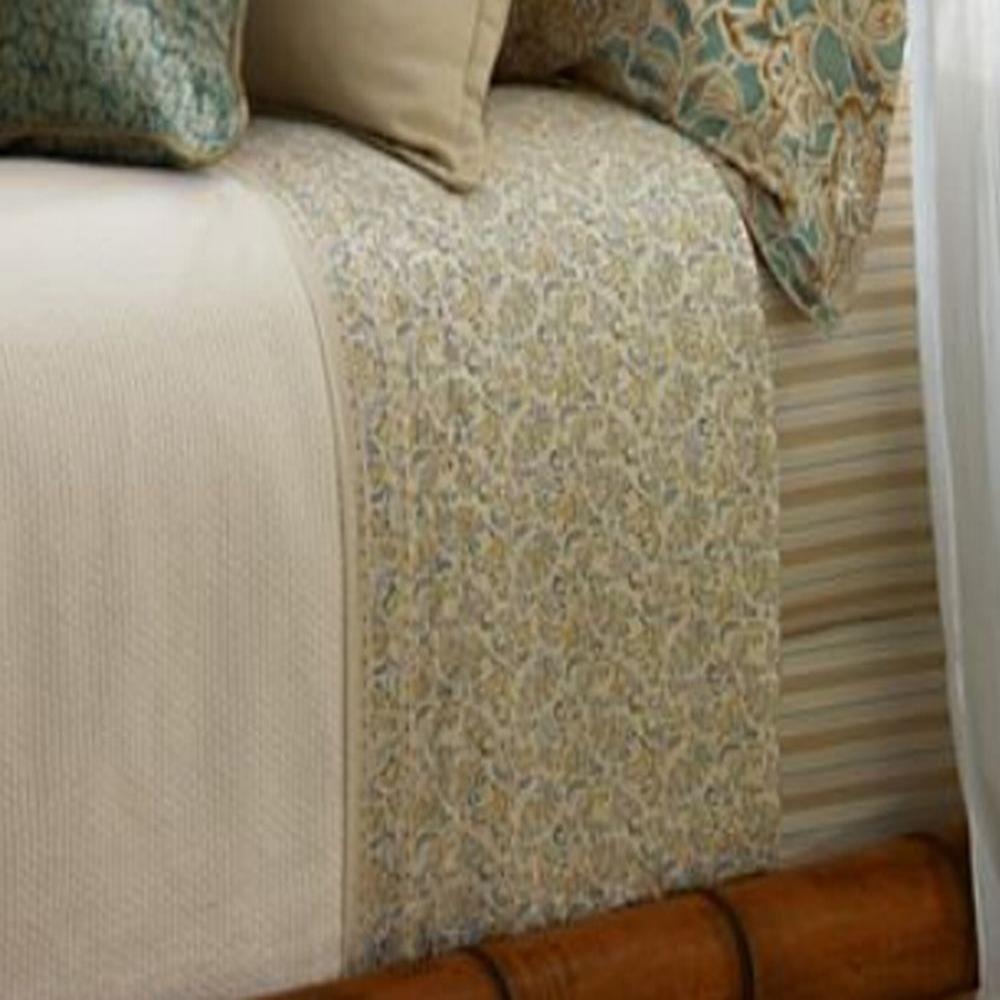 Lauren Ralph Lauren SPA '' Seaside Retreat '' Pillowcases Pair Standard Floral Paisley