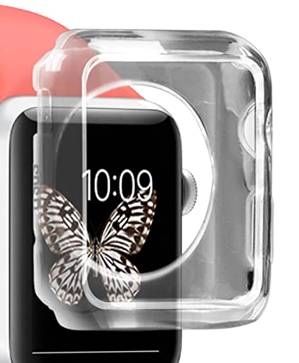 SBS Aero Case Transparente - accesorios de relojes inteligentes (Case, Transparente, Apple,