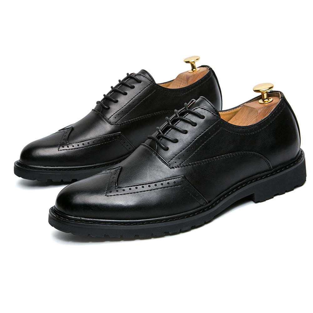 SCSY-Oxford-Schuhe Herren Herren Herren Classico Business Oxford Lässige Mode PU Leder Anti-Rutsch Atmungsaktive Brogue Schuhe  a2f1fe