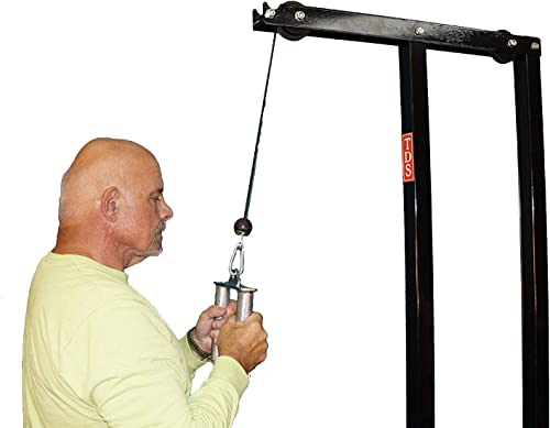 TDS Muti Purpose Special Cable Attachment Bar to Attach to All LAT Machines. Designed to relive Strain in Your Wrists.
