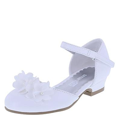 391007f055ed SmartFit Girl s White Toddler Cici Dress Shoes Toddler Size 5 Regular