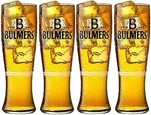 Bulmers - Juego de 4 vasos para pintas de sidra (57 cl)