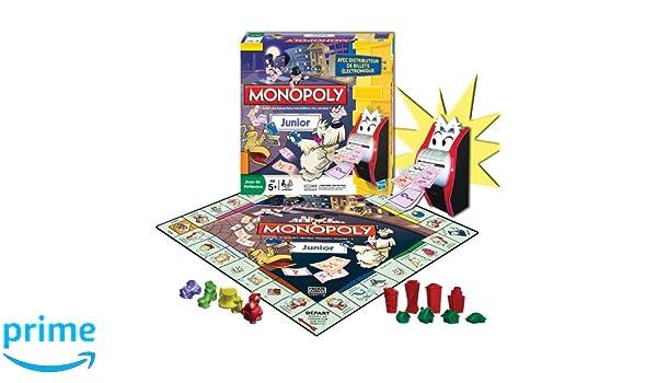 Hasbro 27110 Monopoly Junior - Juego de estrategia ...