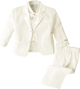 Spring Notion Baby Boys Tuxedo Set with Bow Tie and Handkerchief