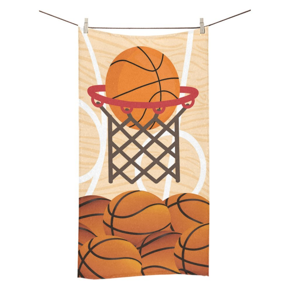Amor naturaleza personalizado baloncesto baño cuerpo ducha toalla ...