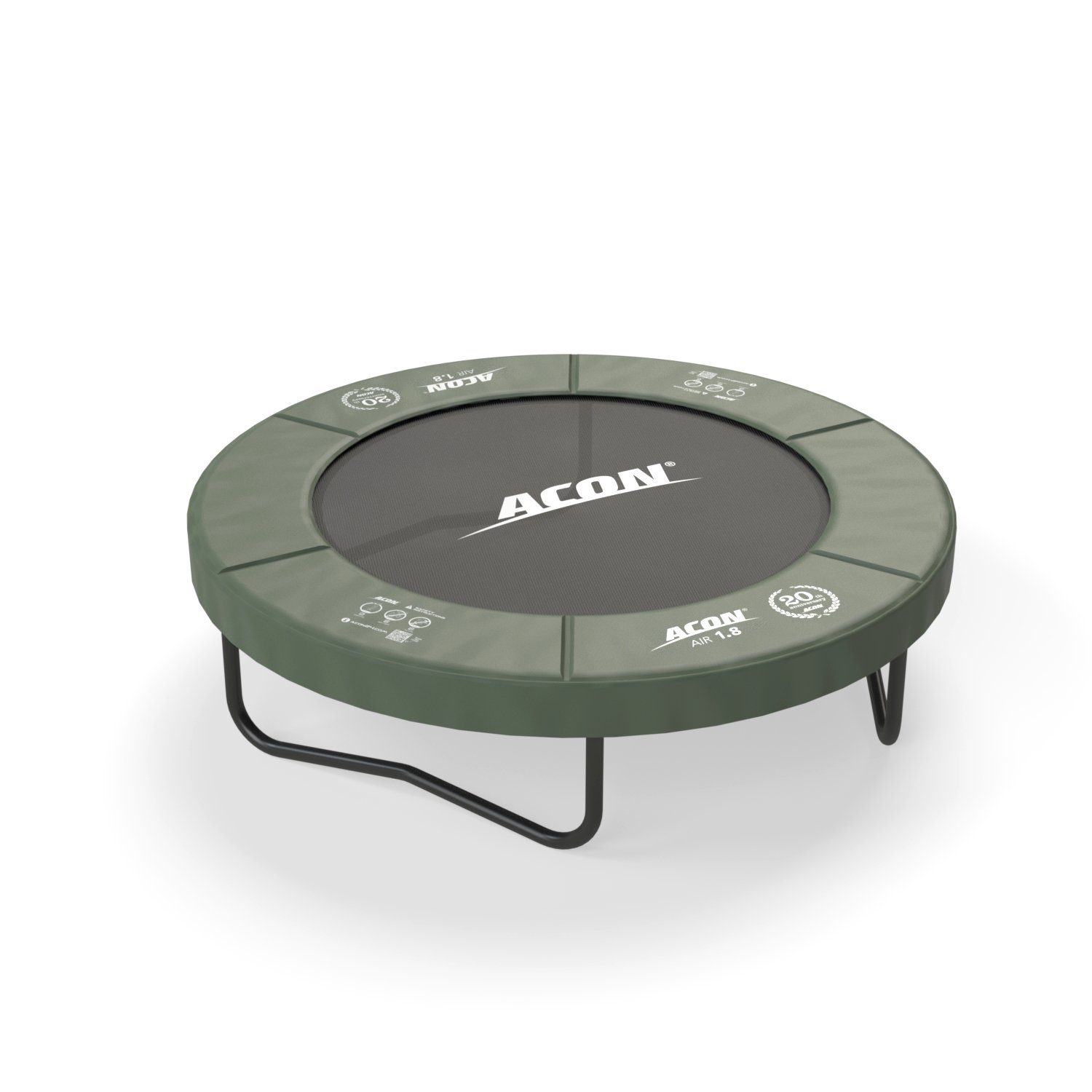 Acon Air 1.8 Fitness or Recreational Trampoline 6ft | Fun Exercise for Adults and Kids | Both Indoor and Outdoor Use, Year-Around