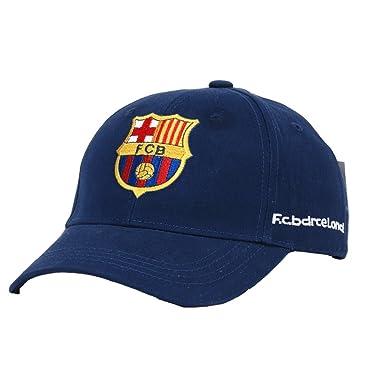 64bb759b705a9 Prom Star Barcelona Football Cap para Hombre y Mujer algodón Dos Tipos  Colores Varios Extremos