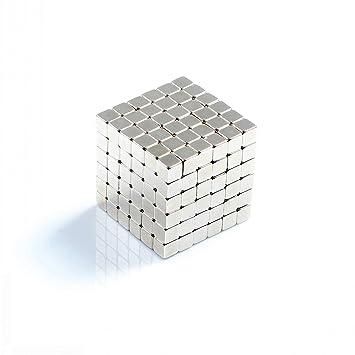Cubo Di Metallo.Una Serie Di 216 Confezioni Di Acciaio Inossidabile Cubo Di Metallo Diy Scultura Libera Creazione E Combinazione Cubo Magnetico 5 Mm