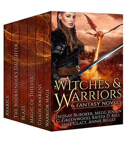 Witches Warriors 6 Fantasy Novels ebook product image