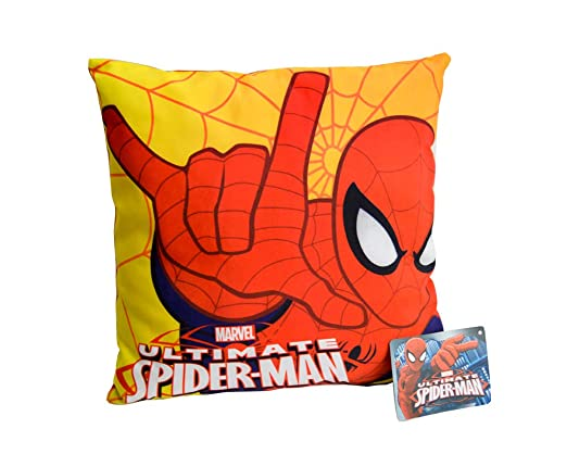 Fair cojín Decorativo Spiderman 35 x 35 cm Doble Color ...