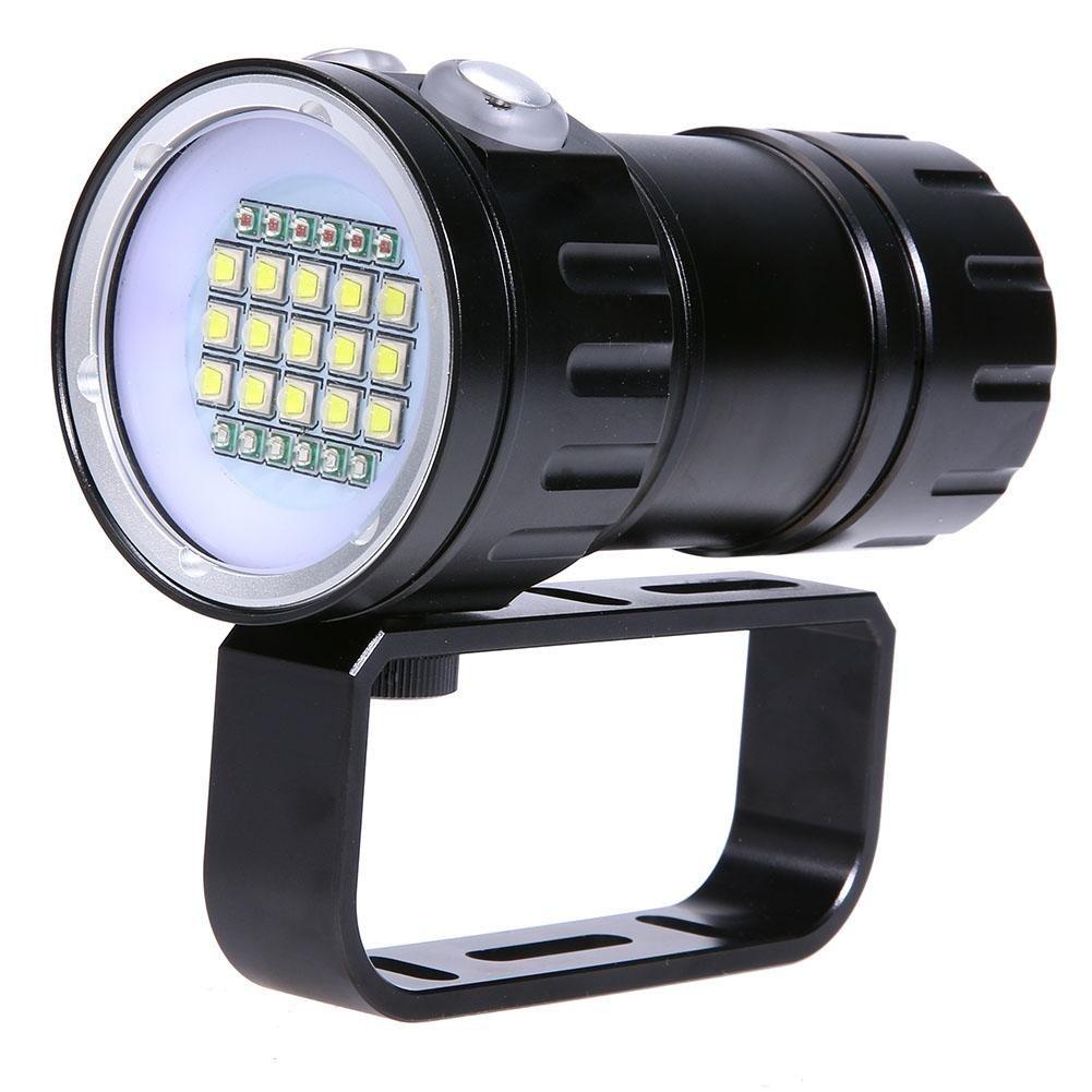 Foru-1 Tauchen Unterwasser 20 x M L2 LED Video Kamera Fill Light Laterne Taschenlampe