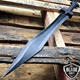 24'' GLADIATOR GREEK Roman Dragon SWORD MACHETE Gladius Medieval w/ SHEATH