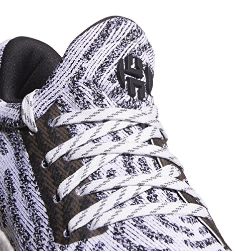 ... Adidas Herde Vol. 1 Ls Primeknit Skoen Junior, Basketball Hvit-kjerne  Svart- ...