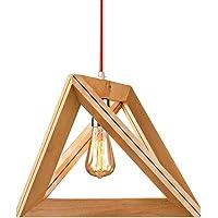 América lámparas geométricas de madera maciza tienda