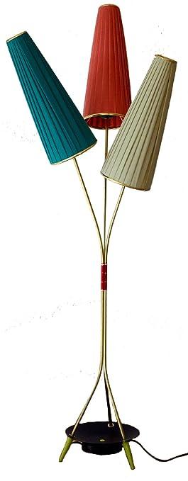Stehlampe Im Stil Der 50er Jahre Lampe Mit 3 Lampenschirmen