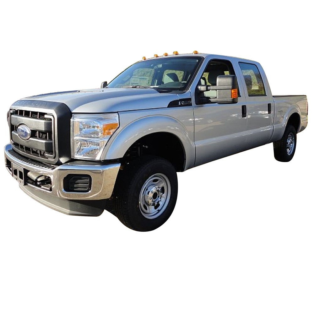 Side Step Bars Fits 1999-2016 Ford F250 F350 F450 | Black Powder Coat Finish T304 Stainless Steel Running Boards Nerf Bars By IKON MOTORSPORTS | 2000 2001 2002 2003 2004 2005 2006 2007 2008 2009 2010 by IKON MOTORSPORTS (Image #3)
