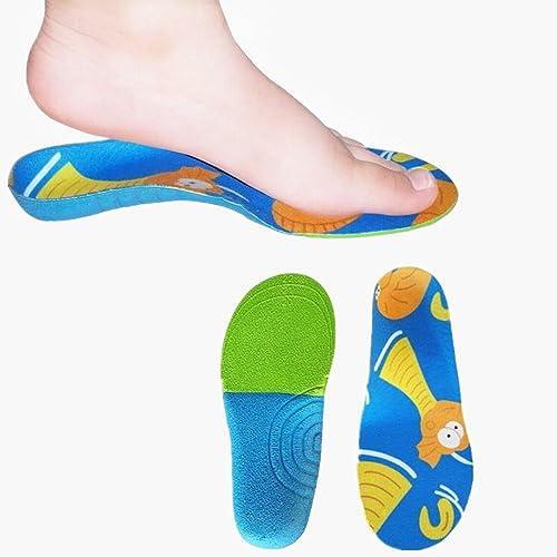 8c5f4c53a06 Yocome Plantilla Ortopédica para Niños - Arco Infantil Soporte para  plantillas ortopédicas Pie de Talón para