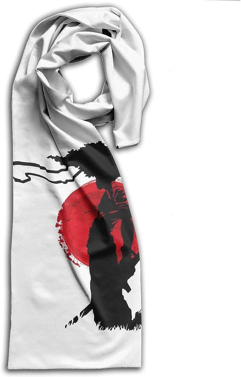 Afro Samurai Scarf Autumn Winter Lightweight Muffler Kids Neckchief Men And Women