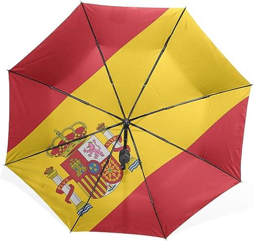 Paraguas de Lluvia para Hombres Bandera de Alto Detalle España ...