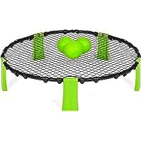 YUYON Beach Volley Ball,Mini Portable Beach Volleybal Training Aid, Geschikt voor Outdoor Beach Games, Blauw
